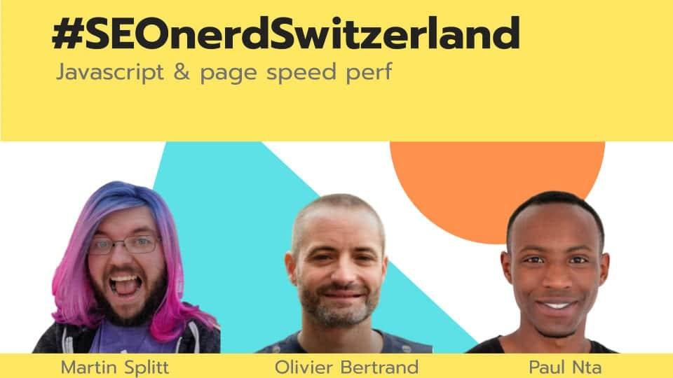 SEOnerd with Martin Splitt, Olivier and Paul