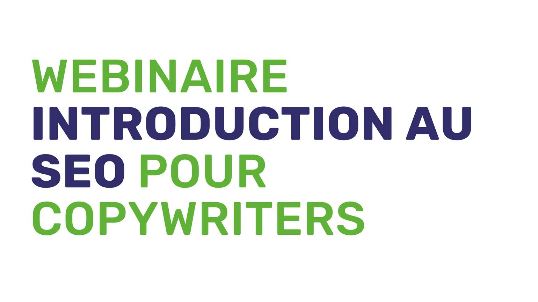 introduction au SEO-copywriters