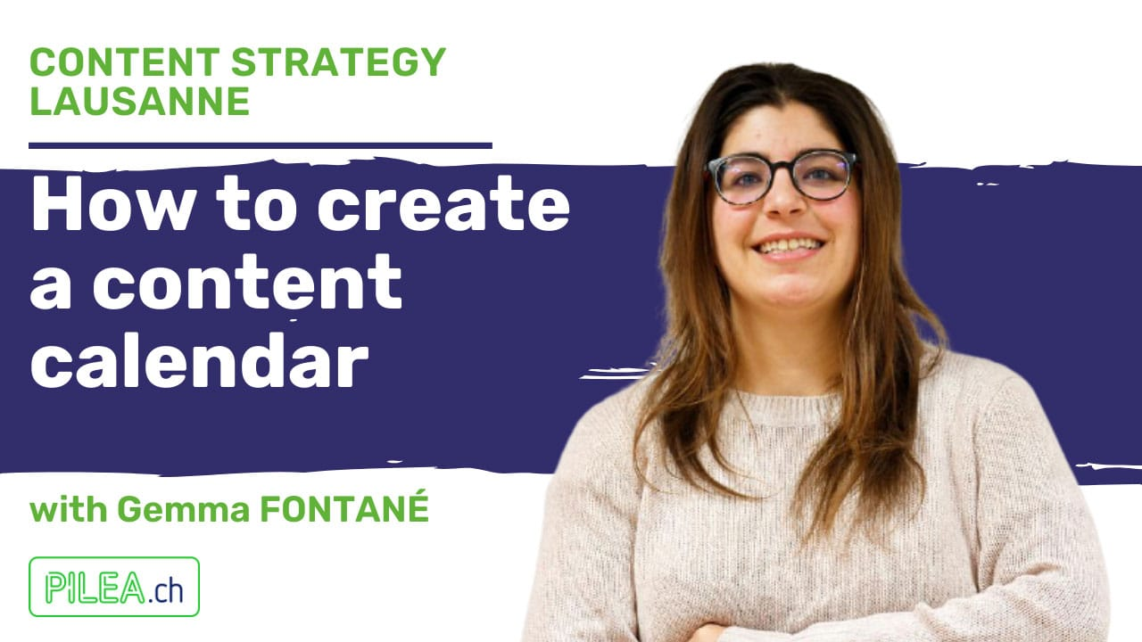 Content Strategy Lausanne - Content Calendar with Gemma Fontané