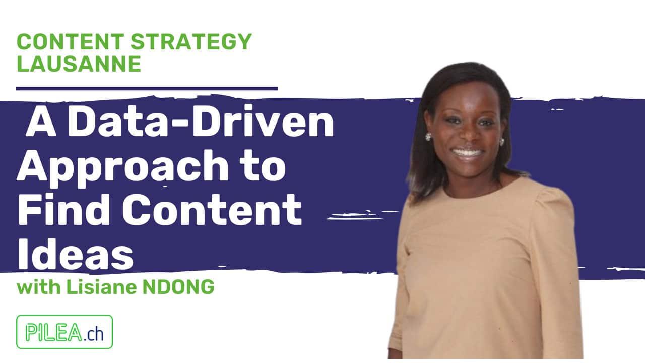 Lisiane Ndong-Data driven content writing