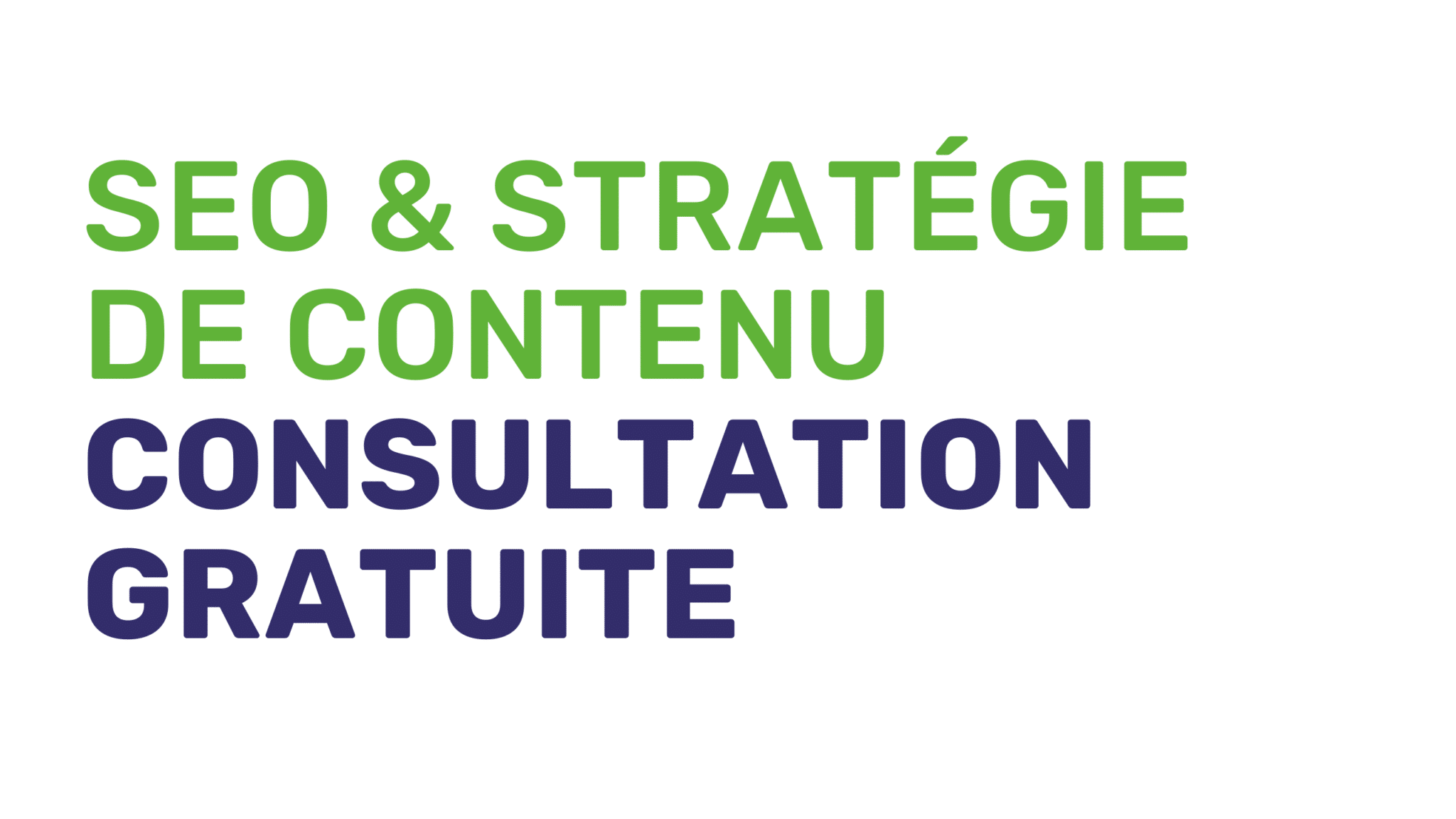 Consultation SEO & stratégie de contenu gratuite